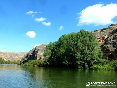 Piragüismo Hoces del Río Duratón;equipamiento para trekking agencias de trekking singles madrid